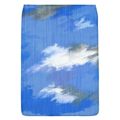 Abstract Clouds Removable Flap Cover (small)