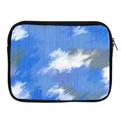 Abstract Clouds Apple iPad Zippered Sleeve