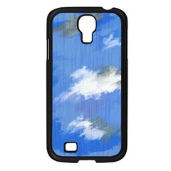 Abstract Clouds Samsung Galaxy S4 I9500/ I9505 Case (black)