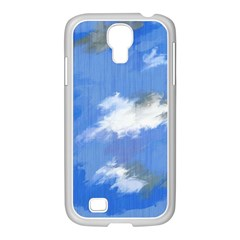 Abstract Clouds Samsung Galaxy S4 I9500/ I9505 Case (white)