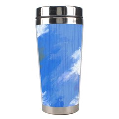 Abstract Clouds Stainless Steel Travel Tumbler