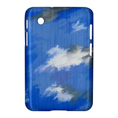 Abstract Clouds Samsung Galaxy Tab 2 (7 ) P3100 Hardshell Case
