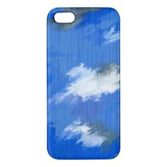 Abstract Clouds iPhone 5S Premium Hardshell Case