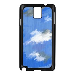 Abstract Clouds Samsung Galaxy Note 3 N9005 Case (black)