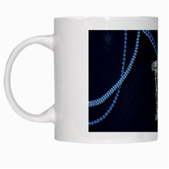 M White Coffee Mug