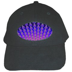 Rainbow Fan Black Baseball Cap