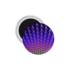 Rainbow Fan 1.75  Button Magnet