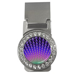 Rainbow Fan Money Clip (cz)