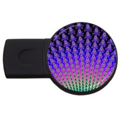 Rainbow Fan 2gb Usb Flash Drive (round)