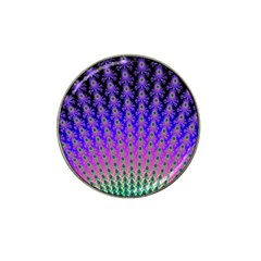 Rainbow Fan Golf Ball Marker (for Hat Clip)