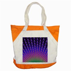 Rainbow Fan Accent Tote Bag