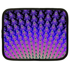 Rainbow Fan Netbook Sleeve (Large)