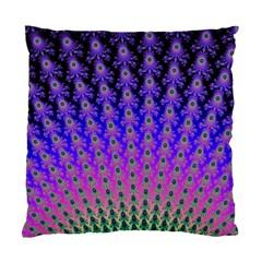 Rainbow Fan Cushion Case (Two Sided)