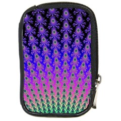 Rainbow Fan Compact Camera Leather Case