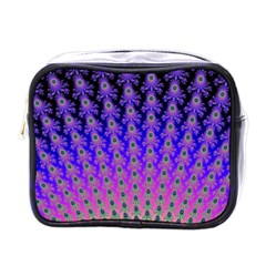 Rainbow Fan Mini Travel Toiletry Bag (One Side)