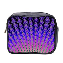 Rainbow Fan Mini Travel Toiletry Bag (Two Sides)