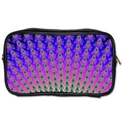 Rainbow Fan Travel Toiletry Bag (One Side)