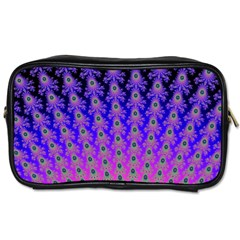 Rainbow Fan Travel Toiletry Bag (Two Sides)
