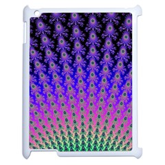Rainbow Fan Apple iPad 2 Case (White)
