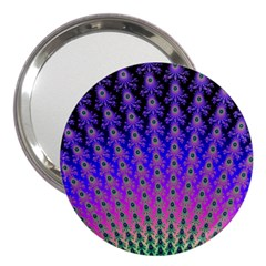 Rainbow Fan 3  Handbag Mirror