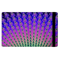 Rainbow Fan Apple iPad 3/4 Flip Case