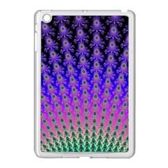 Rainbow Fan Apple iPad Mini Case (White)