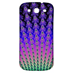 Rainbow Fan Samsung Galaxy S3 S Iii Classic Hardshell Back Case