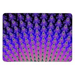 Rainbow Fan Samsung Galaxy Tab 8.9  P7300 Flip Case