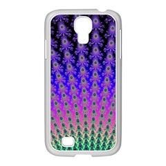 Rainbow Fan Samsung GALAXY S4 I9500/ I9505 Case (White)