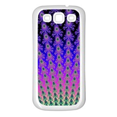 Rainbow Fan Samsung Galaxy S3 Back Case (white)