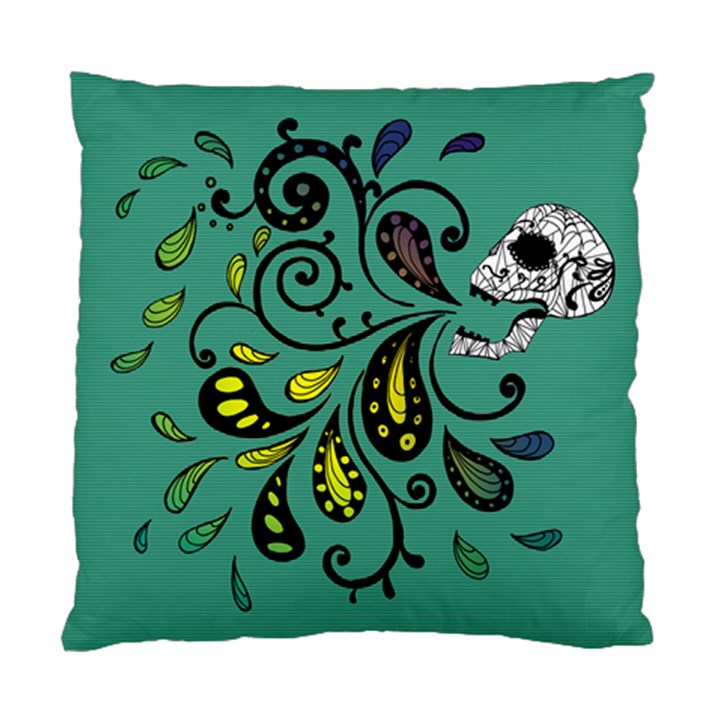 Skull Scream Cushion Case (Single Sided)