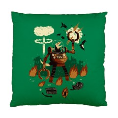 dino wars. Cushion Case (Single Sided)