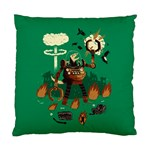 dino wars. Cushion Case (Two Sided)  Front