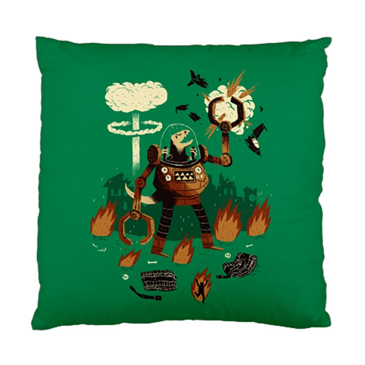 dino wars. Cushion Case (Two Sided)