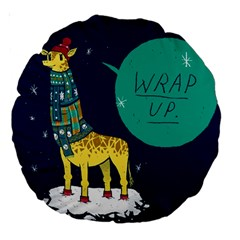 Wrap Up  18  Premium Round Cushion