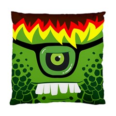Green Monster Cushion Case (Two Sided)