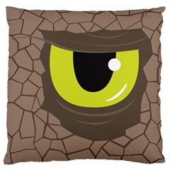 Monster Eye Large Cushion Case (Single Sided)