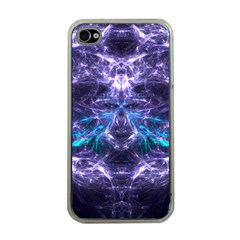 Skull And Monster Apple Iphone 4 Case (clear)