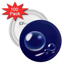 Bubbles 7 2.25  Button (100 pack)