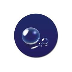 Bubbles 7 Magnet 3  (Round)