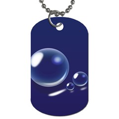 Bubbles 7 Dog Tag (Two-sided)