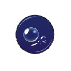 Bubbles 7 Golf Ball Marker (for Hat Clip)