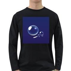 Bubbles 7 Men s Long Sleeve T-shirt (Dark Colored)