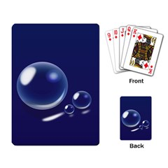 Bubbles 7 Playing Cards Single Design