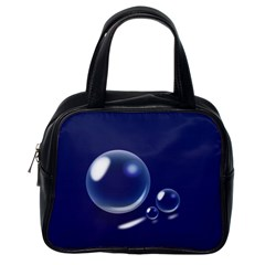 Bubbles 7 Classic Handbag (one Side)