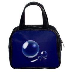 Bubbles 7 Classic Handbag (two Sides)