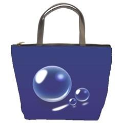 Bubbles 7 Bucket Handbag
