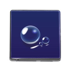 Bubbles 7 Memory Card Reader with Storage (Square)