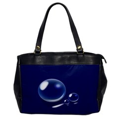 Bubbles 7 Oversize Office Handbag (one Side)