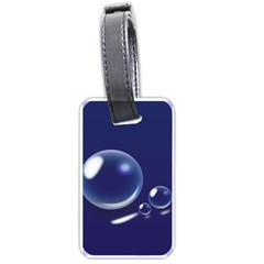 Bubbles 7 Luggage Tag (two Sides)